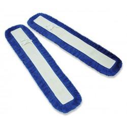 2 Mops V à pression Acrylique bleu