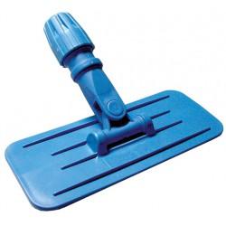 Support tampon abrasif bleu 23 cm