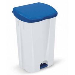 Couvercle bleu 50 litres