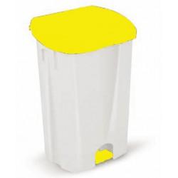 Couvercle jaune 50 litres