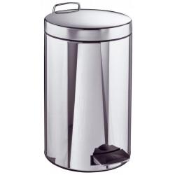 Poubelle Inox 5 litres - Ø 210 mm - h 280 mm
