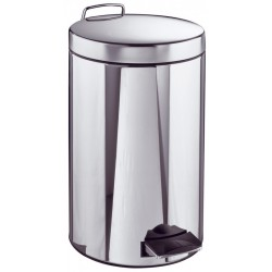 Poubelle Inox 12 litres - Ø 250 mm - h 400 mm