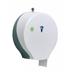 Distributeur papier hygiènique ABS blanc 1 rouleau vertical Ø 310 mm