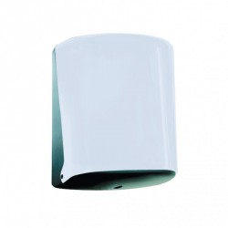 Distributeur papier serpentin ABS blanc Ø 220 mm