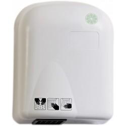 Sèche-mains à photocellule ABS blanc chaud/froid 1650 W