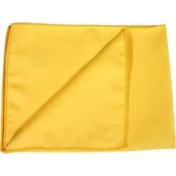 Microfibre velours jaune