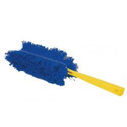 Plumeau acrylique bleu