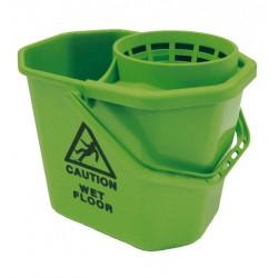 Seau pro 12 litres vert