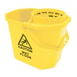 Seau pro 12 litres jaune