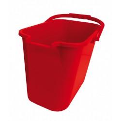 Seau ECO + essoreuse 12 litres rouge